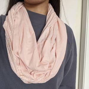 Lululemon Twist and Shout Scarf Light Pink